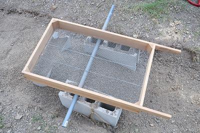 農業用土ふるい器の画像
